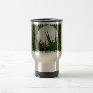 Golf Ball Design Travel Mug