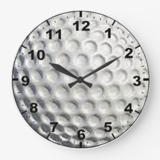 """Golf Ball"" design wall clocks"