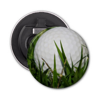 Golf Ball Design Button Bottle Opener