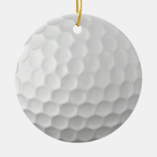 Golf Ball Dimples Texture Pattern 2 Ceramic Ornament