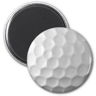 Golf Ball Dimples Texture Pattern 2 Inch Round Magnet