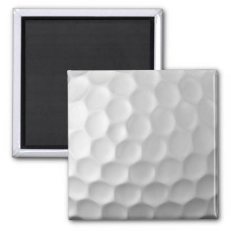 Golf Ball Dimples Texture Pattern 2 Inch Square Magnet