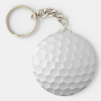 Golf Ball Dimples Texture Pattern 2 Keychain
