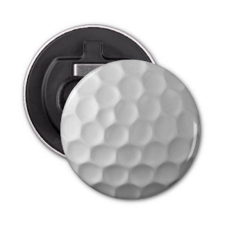 Golf Ball Dimples Texture Pattern Bottle Opener