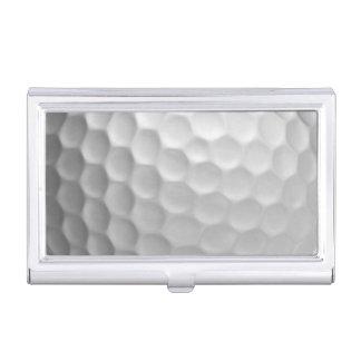 Golf Ball Dimples Texture Pattern Business Card Holder