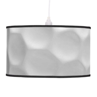 Golf Ball Dimples Texture Pattern Ceiling Lamp