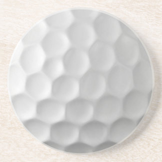 Golf Ball Dimples Texture Pattern Coaster