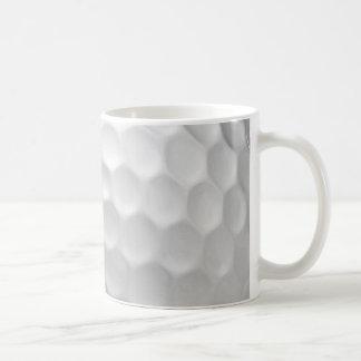 Golf Ball Dimples Texture Pattern Coffee Mug