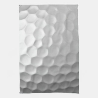 Golf Ball Dimples Texture Pattern Kitchen Towel