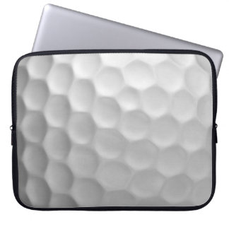 Golf Ball Dimples Texture Pattern Laptop Sleeve