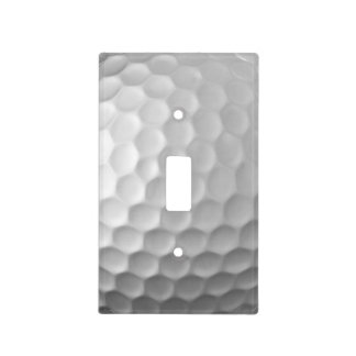 Golf Ball Dimples Texture Pattern Switch Plate Covers