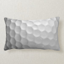 Golf Ball Dimples Texture Pattern Lumbar Pillow