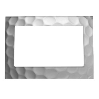Golf Ball Dimples Texture Pattern Magnetic Frame