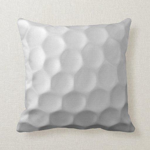 Golf Ball Dimples Texture Pattern Pillows
