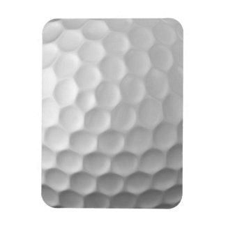 Golf Ball Dimples Texture Pattern Rectangular Magnets