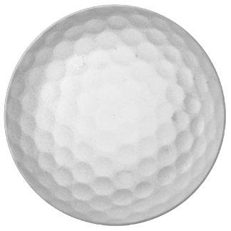 Golf Ball Dinner Plate