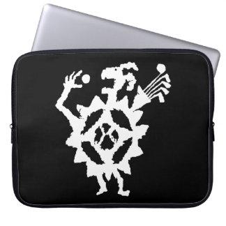 Golf Ball Eater Petroglyph Computer Sleeve