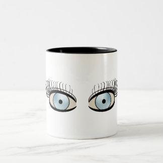 Golf Ball Eyes Mug