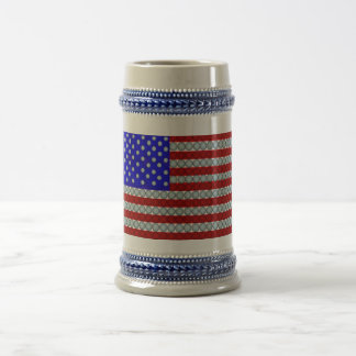 Golf Ball Flag Beer Stein