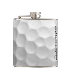 Golf Ball Flask With Personalized Name at Zazzle