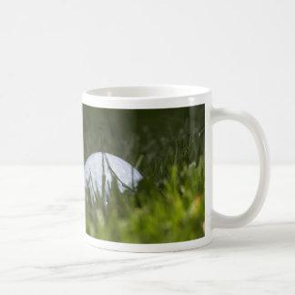 golf ball hiding classic white coffee mug