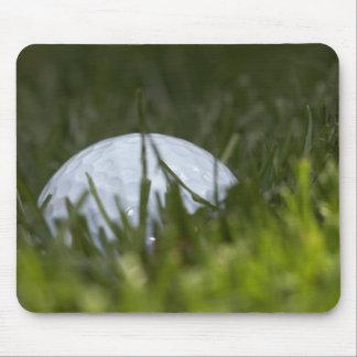 golf ball hiding mouse pad