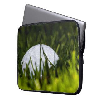 golf ball hiding remix computer sleeve