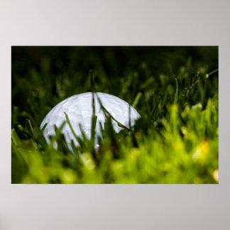 golf ball hiding remix poster