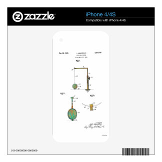 GOLF BALL HOLDER PATENT 1940 - Skins for iPhone 4