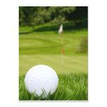 Golf Ball In Grass Card