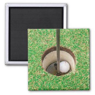 Golf Ball in Hole Magnet