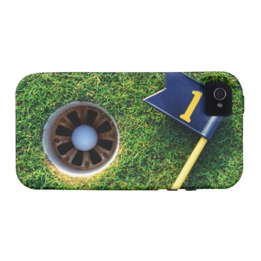 golf ball in hole vibe iPhone 4 cover