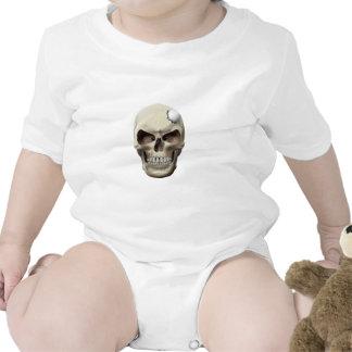 Golf Ball in Skull Baby Creeper