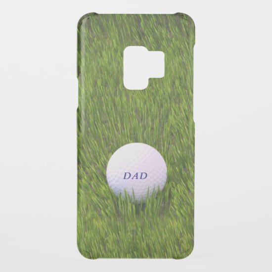 Golf Ball in the Rough Green Grass Uncommon Samsung Galaxy S9 Case