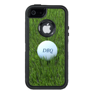 Golf Ball In the Rough - Personalized OtterBox Defender iPhone Case