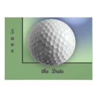 Golf Ball Invitation