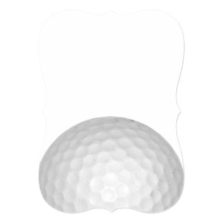 Golf Ball Personalized Announcements