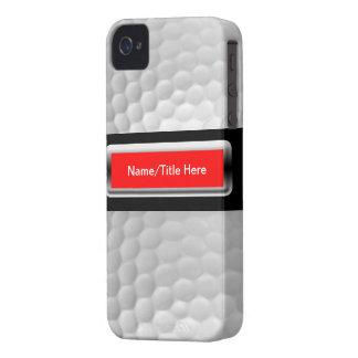 Golf Ball Iphone 4 4S Case Case-Mate iPhone 4 Case