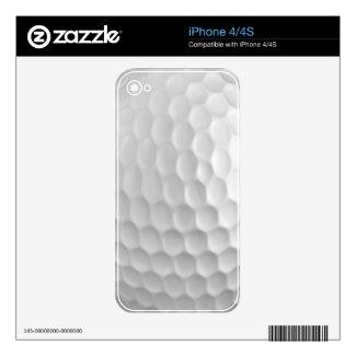 Golf Ball Iphone 4/4S Skin musicskins_skin