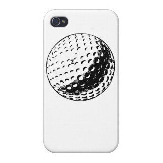 Golf Ball Cover For iPhone 4