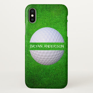 Golf Ball iPhone X Case