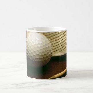 Golf Ball, Iron, and Tees  Photo On Coffee Mug