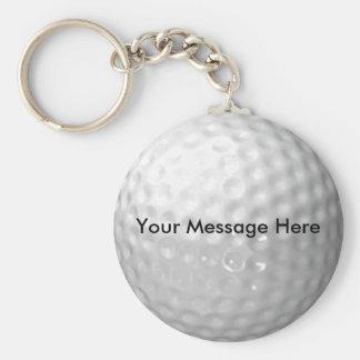 Golf Ball Key Chain