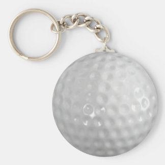 Golf ball key chains