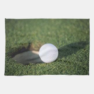 Golf Ball Kitchen Towel