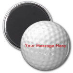 Golf Ball Magnet - add your message