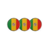 Golf Ball Marker with Flag of Los Angeles, USA