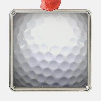 golf ball metal ornament