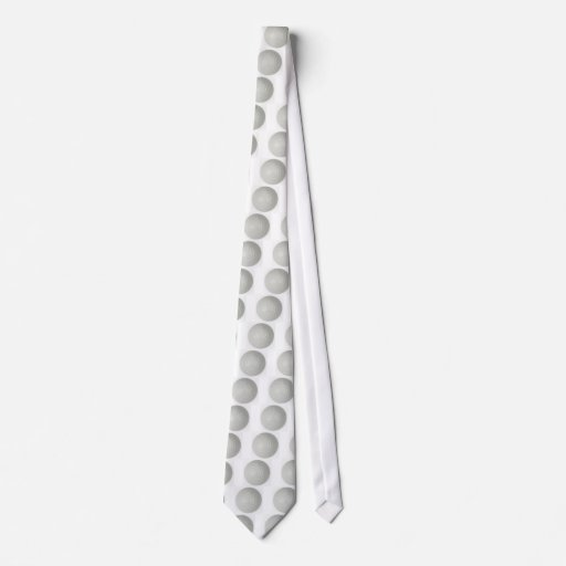 golf ball neckwear