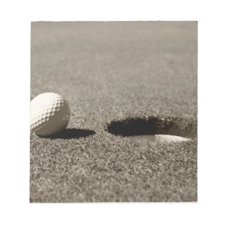 Golf Ball Notepad